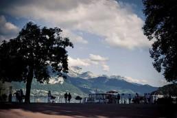Promenade bord du lac d'Annecy
